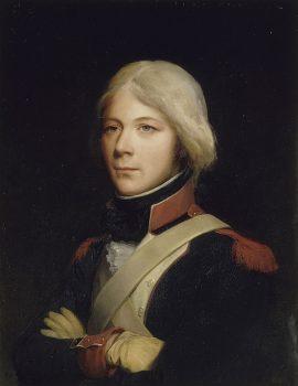 Nicolas Joseph Maison, grenadier au 1er bataillon de Paris en 1792, Léon Cogniet, 1834.