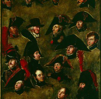 16 Portraits de Louis-François-Gérard Van der Puyl