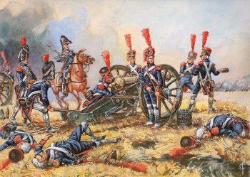 Artillerie de la Garde à Wagram