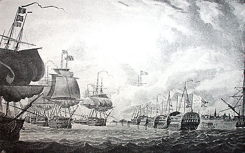 La bataille de Copenhague