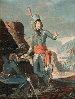 François Séverin Marceau-Desgraviers, Eau forte par Sergent-Marceau, 1798, (musée de la Révolution française