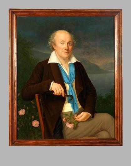 Louis-Victor Meriadec de Rohan. Portrait de Frantisek Tkadlik (1786-1840)