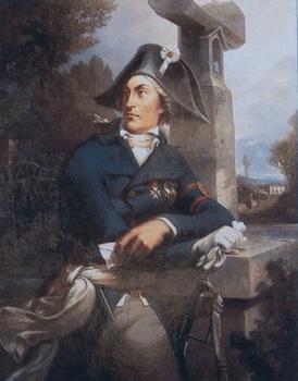 Jean-Nicolas Stofflet, huile sur toile de Thomas Drake, XIXe siècle.
