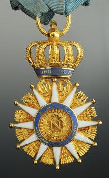 Étoile de Chevalier de l'Ordre de la Réunion