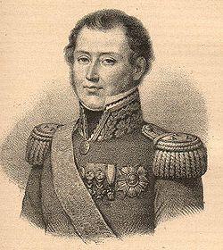Portrait du général Berthézène