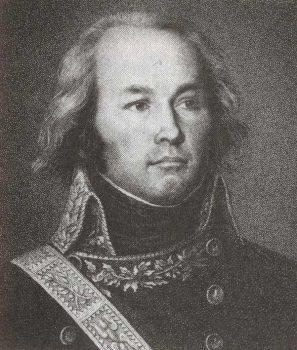Portrait du général Lecourbe. Artiste inconnu.