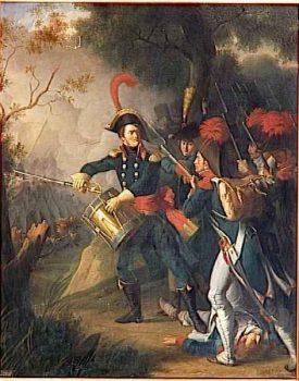 Duhesme à la bataille de Diersheim