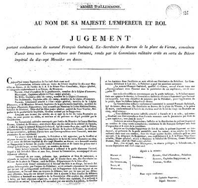 Publication du Jugement Gueniaard