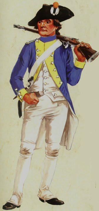 Fusilier du Régiment Royal-Corse par M. Pétard