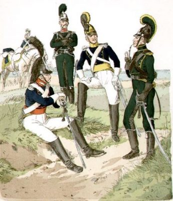 Éléments de l'armée wurtembergeoise