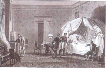Napoléon malade