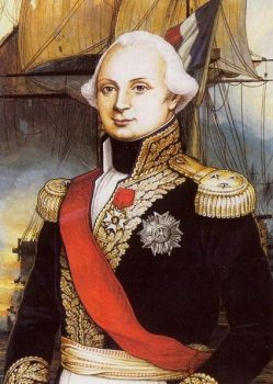 Portrait de l'amiral Villaret-Joyeuse