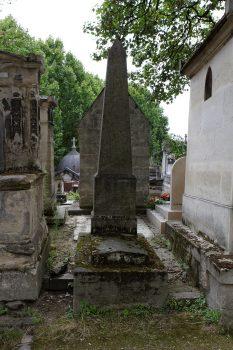 Tombe de l'amiral Bruix au cimetière du Père Lachaise