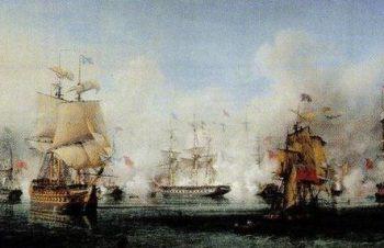La bataille de Navarin